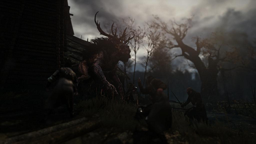 The Fiend of Crookback Bog (Alt ) | The Witcher 3: Wild Hu