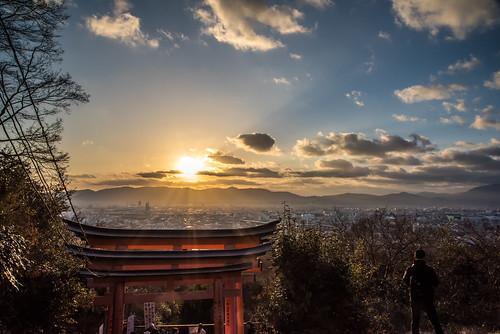 2018 kyoto asien nikon sunset urlaub sonnenuntergang nikond810 vacation d810 japan sun kyōtoshi kyōtofu jp