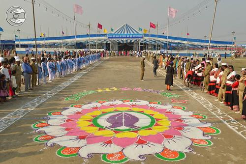 View of Samagam Ground