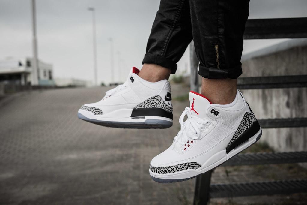 e5c1f8f7604a ... Air Jordan 3 White Cement NRG (Free Throw Line)