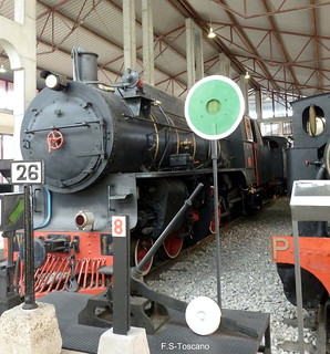 Museo del Ferrocarril. Railway Museum. Ponferrada.