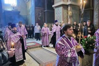Панихида в Софийском соборе 120