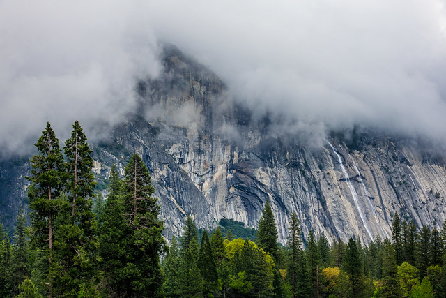 Trying to catch up - Yosemite National Park on a cloudy morning