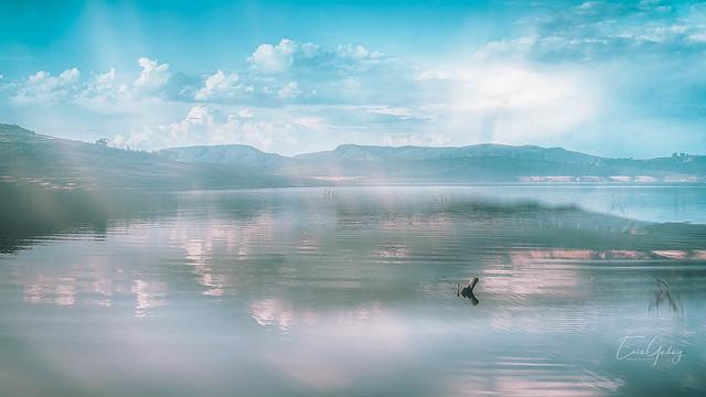 Furnas Lake - Guapé/MG - double exposure