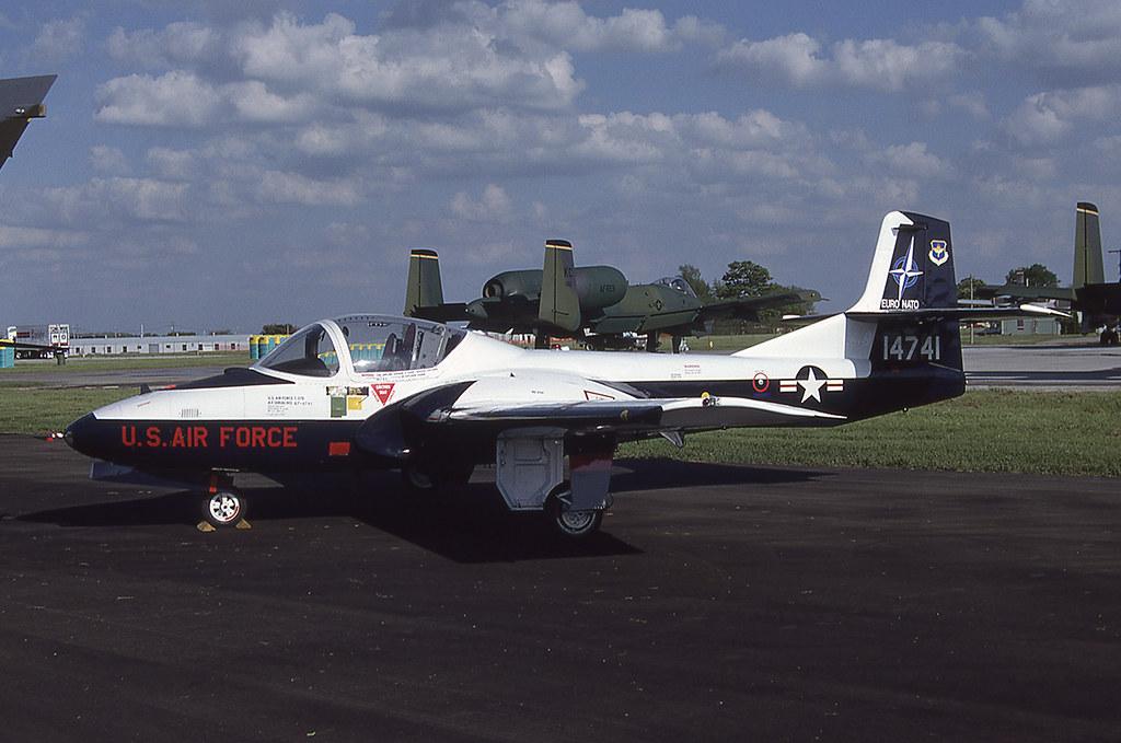 USAF - T-37B - 67-14741 [6.89] EURO-NATO Training Sqn | Flickr