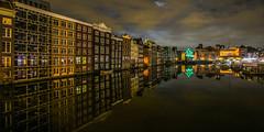 Amsterdam Damrak Reflections