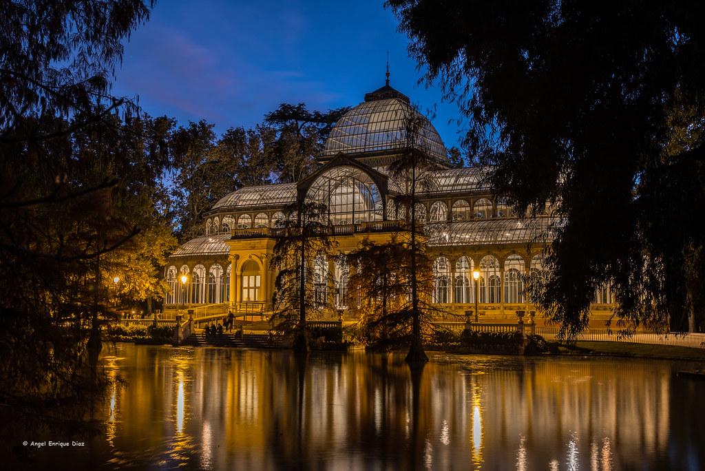 Palacio de cristal. Parque El Retiro