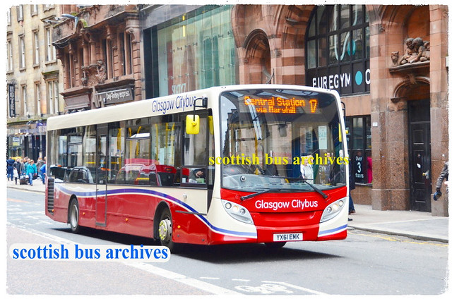 GLASGOW CITYBUS 11207 YX61EMK
