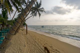 Beach at Moragalla   by seghal1