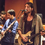 Tue, 06/03/2018 - 9:03pm - Producer, songwriter, guitarist Jonathan Wilson and his band perform for WFUV members at Electric Lady Studios in New York City. 3/6/18 Hosted by Rita Houston. Photo by Gus Philippas/WFUV