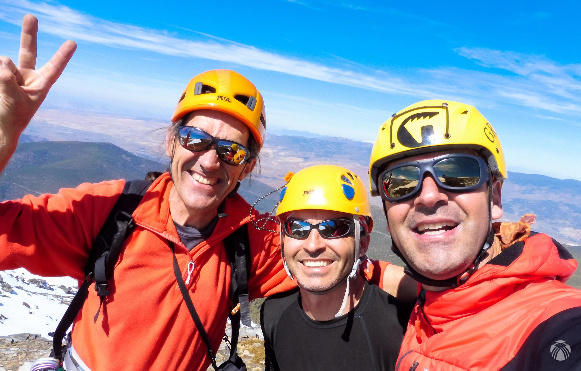 Felices en la cumbre