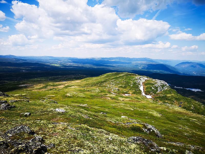 26-Utsikt nordover fra Senhovd
