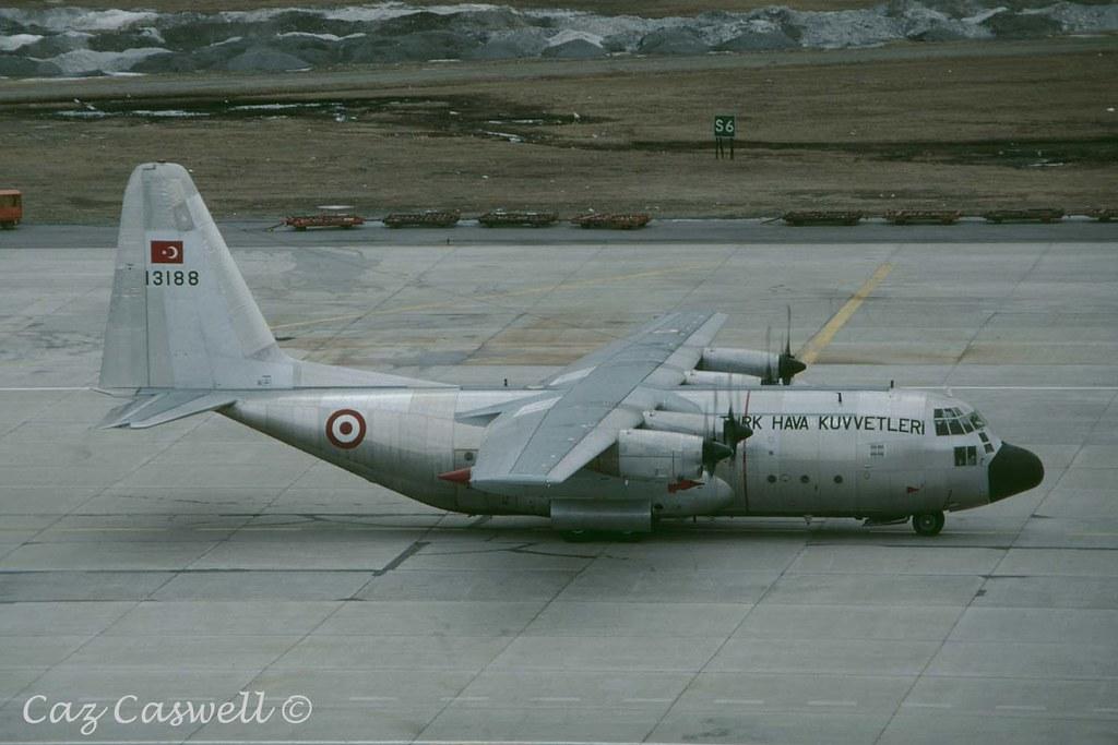 13188  C-130E  222 Filo  Turkish AF