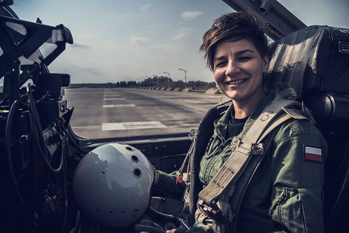Poland's first female fighter jet pilot | by NATO