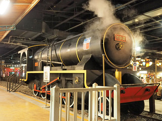 One of the main attractions at Taiwan Times Village (寶島時代村), the steam train.   by huislaw