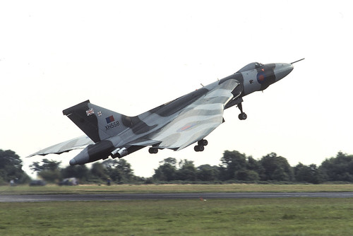 Vulcan at West Malling 1988 | by Dreamworker53