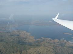 San Luis Reservoir from 7,200 Feet
