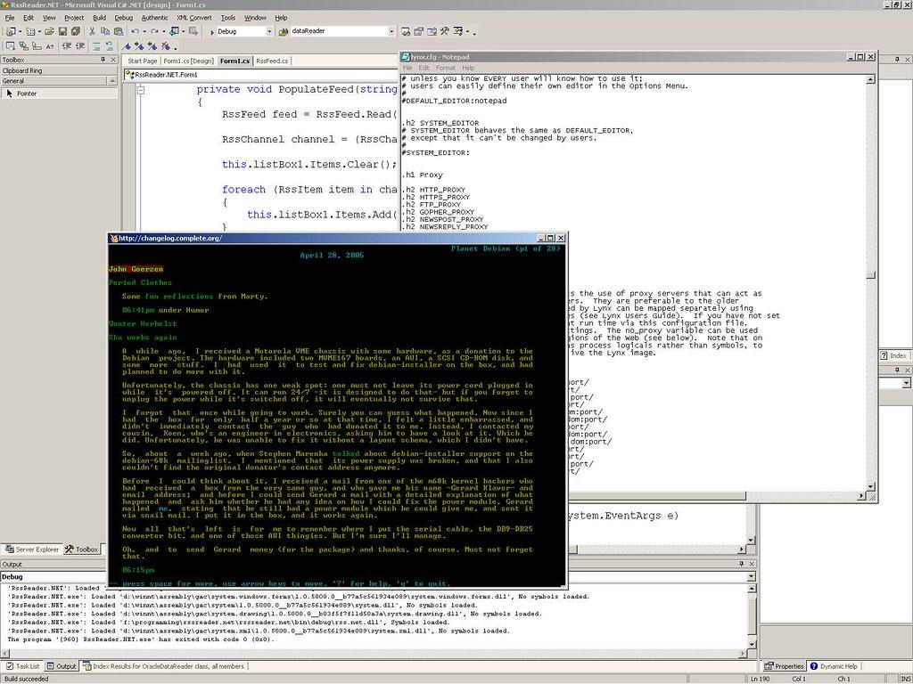 Lynx Browser on Windows - Journal of an Open Sourcee