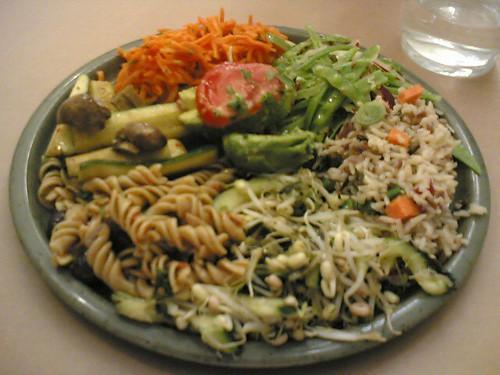 Rose Bakery: assiette de crudités