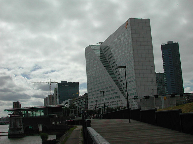 Jackie Chan Building | This odd building in Rotterdam, Holla