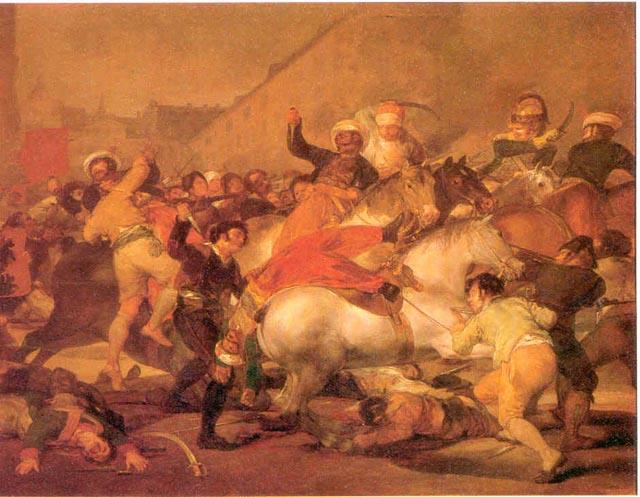 la lucha de los mamelucos en la Puerta del Sol