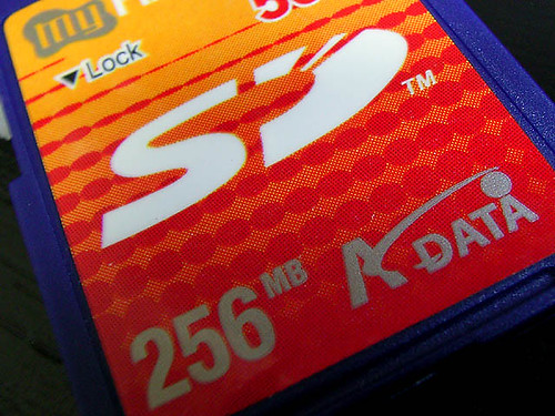 SD card.