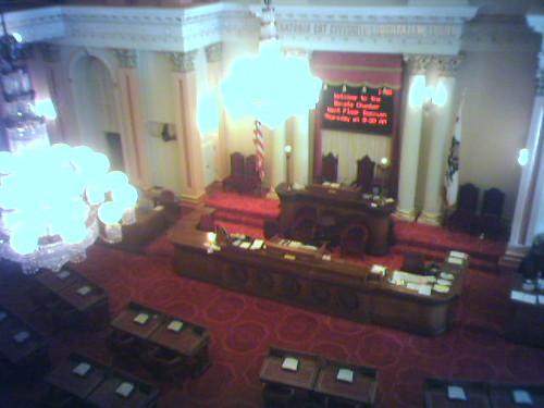 Senate Gallery Sacramento