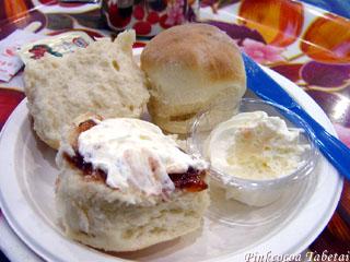Cream and Jam on our Scones - Devonshire Tea