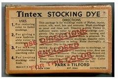 Tintex Stocking Dye (Back)