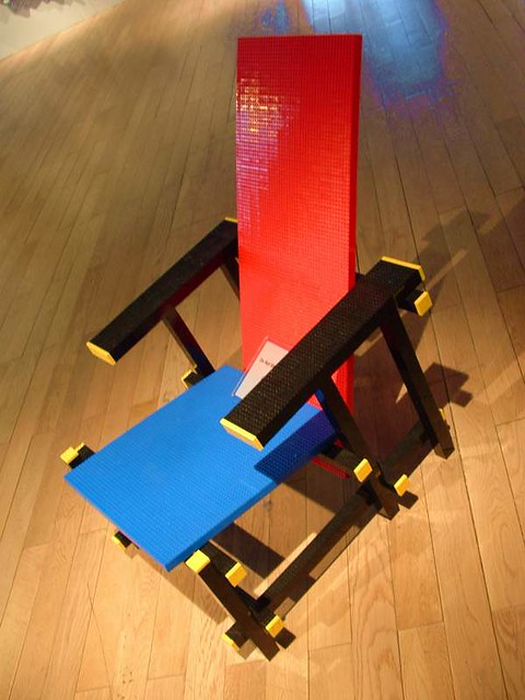 Red Blue Chair