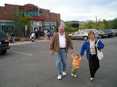 Grandpop and Grandma with Princess
