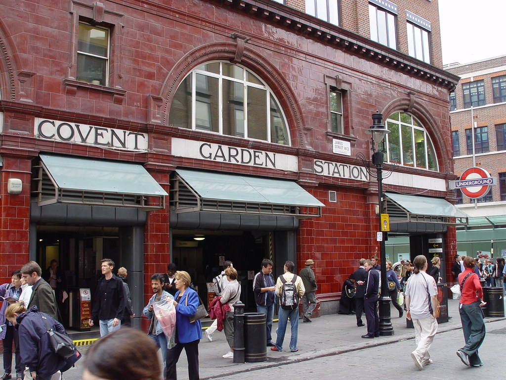 Covent Garden Station Facade