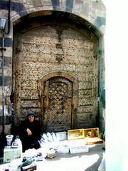Woman at a Caravanserai door