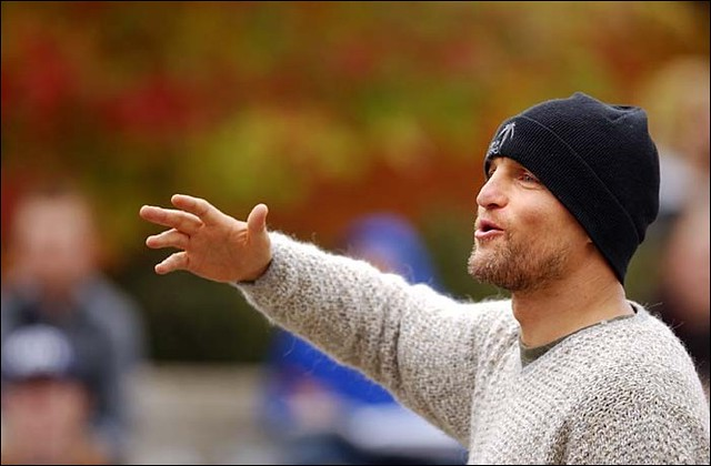Woody Harrelson | Speaking to a crowd of hundreds of student… | Flickr