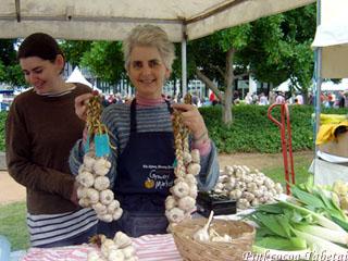 Gilles Bonin Organic Garlic