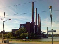 Besuch in Wolfsburg