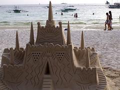 Detailed Sandcastle