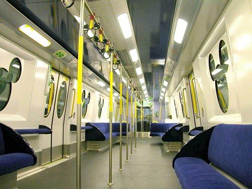 TDL monorail interior