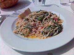 Spagetti with Cornish Crab