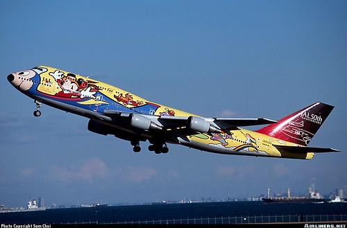Disney airliner 2