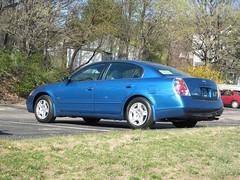 Blue 2003 Altima