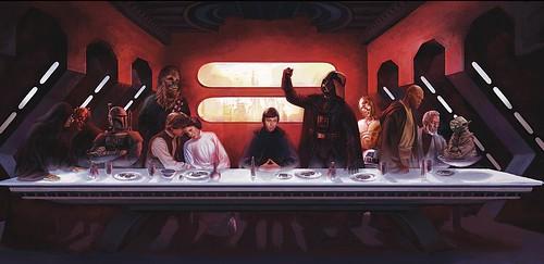 Star Wars' Last Supper