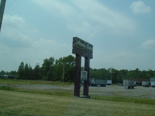 Airway Center, Franklin VA Abandoned (????)