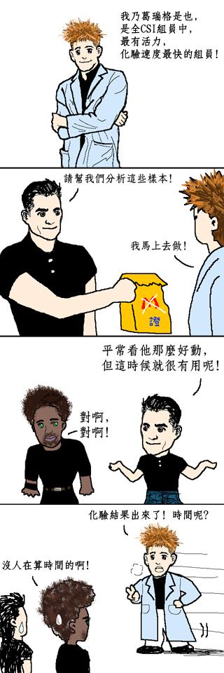 CSI comics
