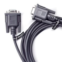 Cable null-modem para conectar 2 PCs por puerto serie
