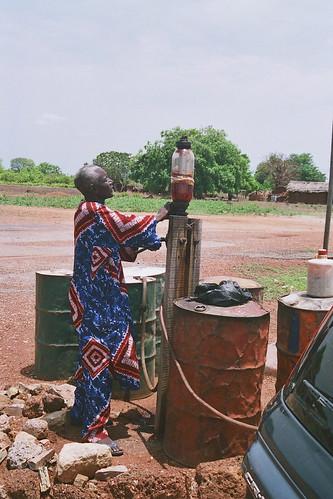 gasolinera en Ghana