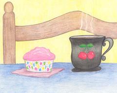 Cupcake and Tea