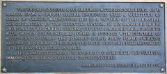 state department sculpture - plaque