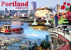 Picture Postcard Portland