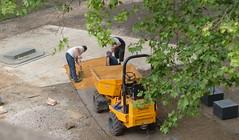 Preparing the Quiet Garden path